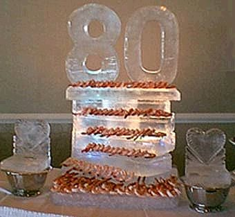 [Image - 80th Birthday Party Centerpiece