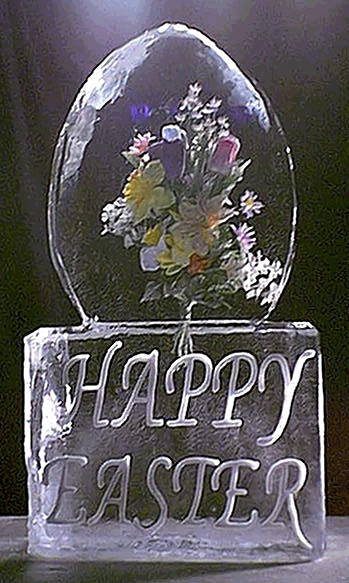 Click on image to view actual size [ Image - Easter Egg with embedded flowers ]