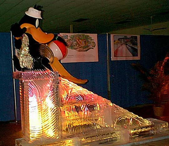Click on image to view full size [Image - Ten Block Ice Slide